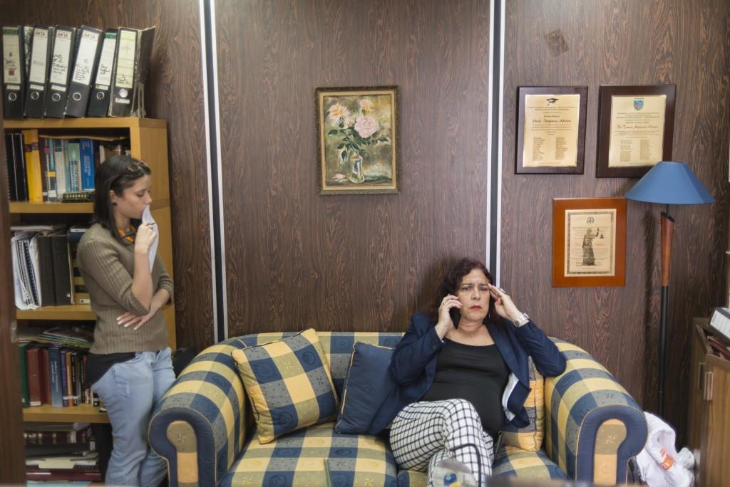 Tamara Adrián Hernández (Caracas, Venezuela, 20 de febrero de 1954), es una diputada y abogada venezolana, graduada en la Universidad Católica Andrés Bello (UCAB) y doctora en Derecho Comercial de la Université Panthéon-Assas de Paris. También es profesora de Derecho en la Universidad Católica Andrés Bello (UCAB), Universidad Central de Venezuela (UCV) y en la Universidad Metropolitana (Unimet). Es una reconocida activista por los derechos de las mujeres, por los derechos de las minorías sexuales y las categorías denominadas LGBTI.1 2 3 Aparte, se convirtió en la primera diputada transgénero elegida en América y su país, por el partido de la MUD en las Elecciones parlamentarias de Venezuela de 2015.4 Caracas, 15/12/15. © Gabriel Osorio