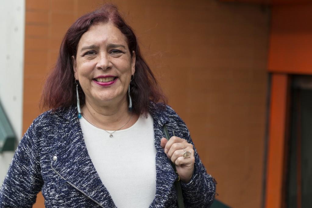 Tamara Adrián, abogada y diputada electa por el partido Voluntad Popular. Adrian es la primera parlamentaria transgénero venezolana. Caracas, 4/1/16. © Gabriel Osorio