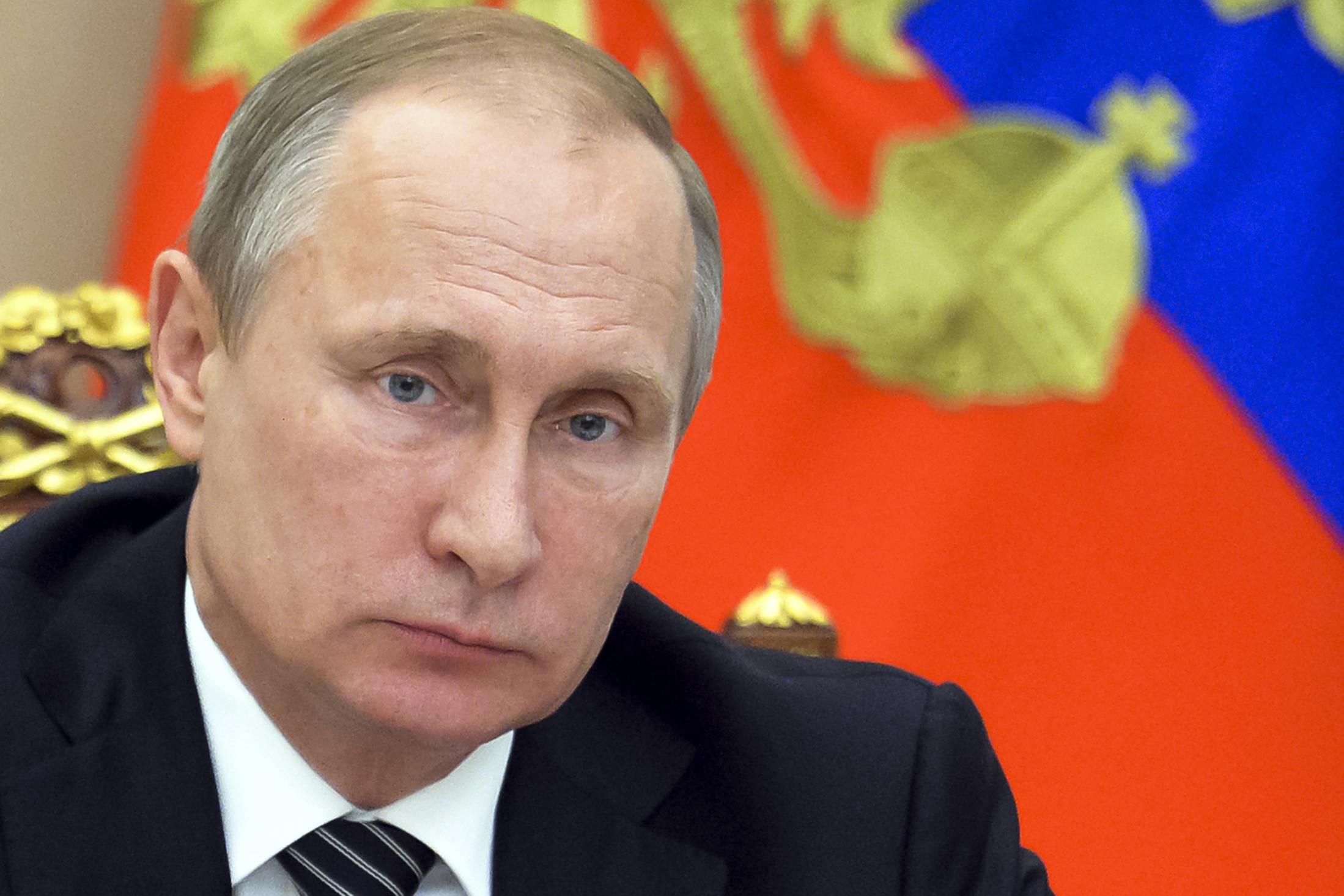 Putin durante una reunión del Gobierno. / Alexei Druzhinin/Sputnik, Kremlin Pool Photo via AP