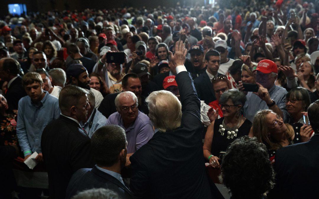 Cinco cosas que aprendí cubriendo los últimos eventos de Donald Trump