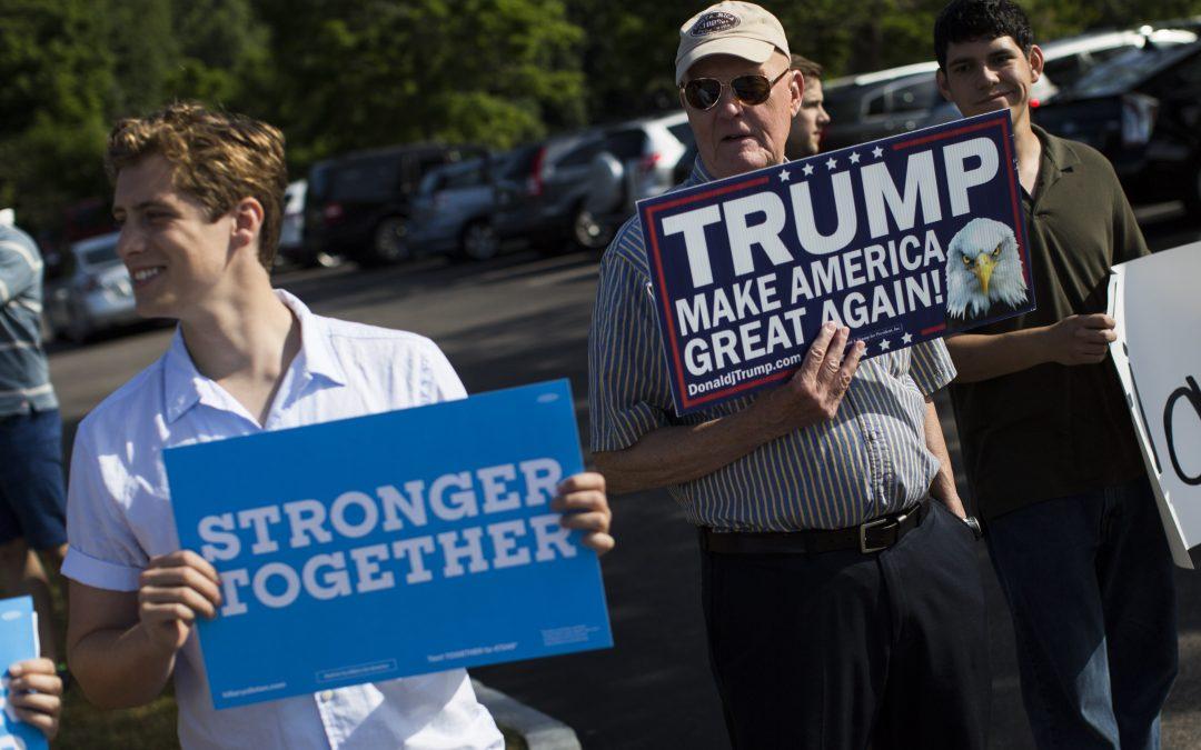 Las elecciones sin estados decisivos: Trump se está quedando sin lugares por los que luchar