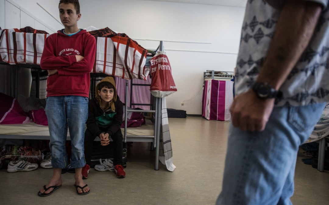 Occasionally, there are altercations between refugees. Nationality and ethnicity are divisive issues at such close quarters, making cohabitation difficult and sometimes fraught with hostility.